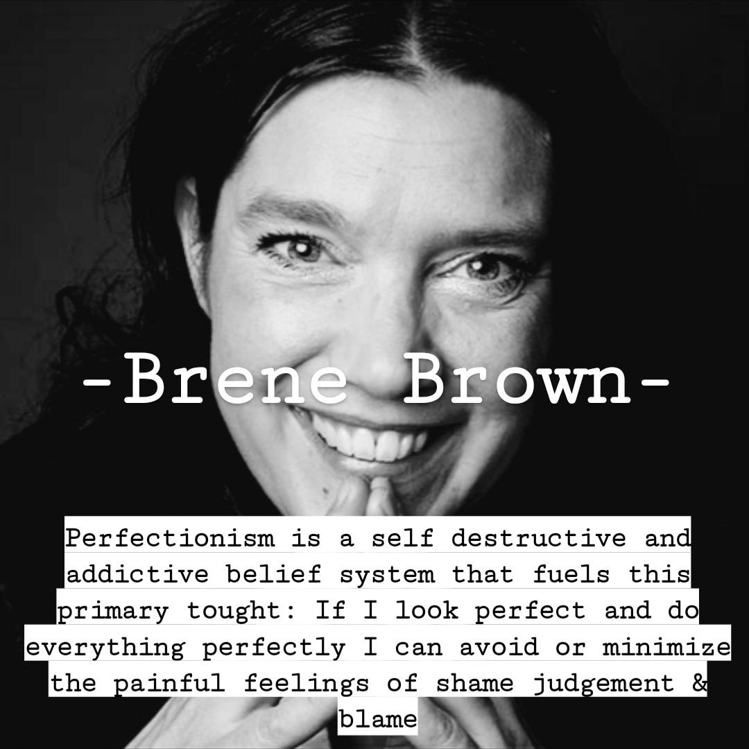 A Litle Brenne Brown verzonnen je kwetsbaarheden verstopt? Die kwetsbaarheden, die onzekerheden kunnen zomaar de kop opsteken